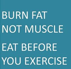 eat before exercise