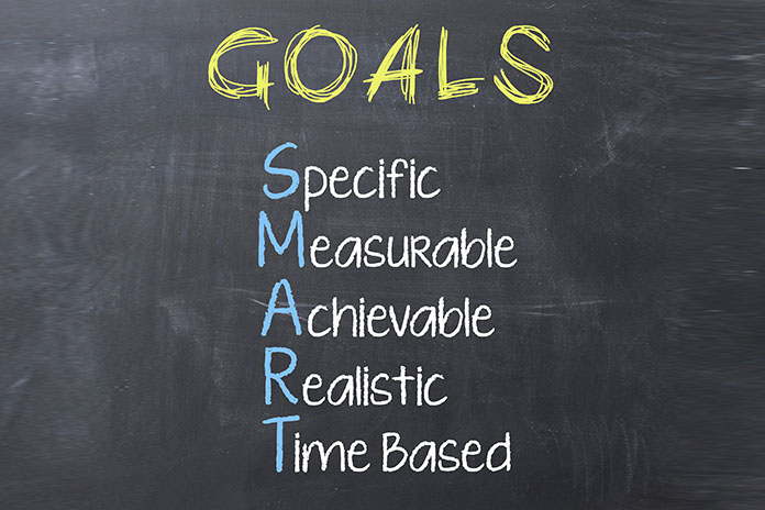set achievable goals